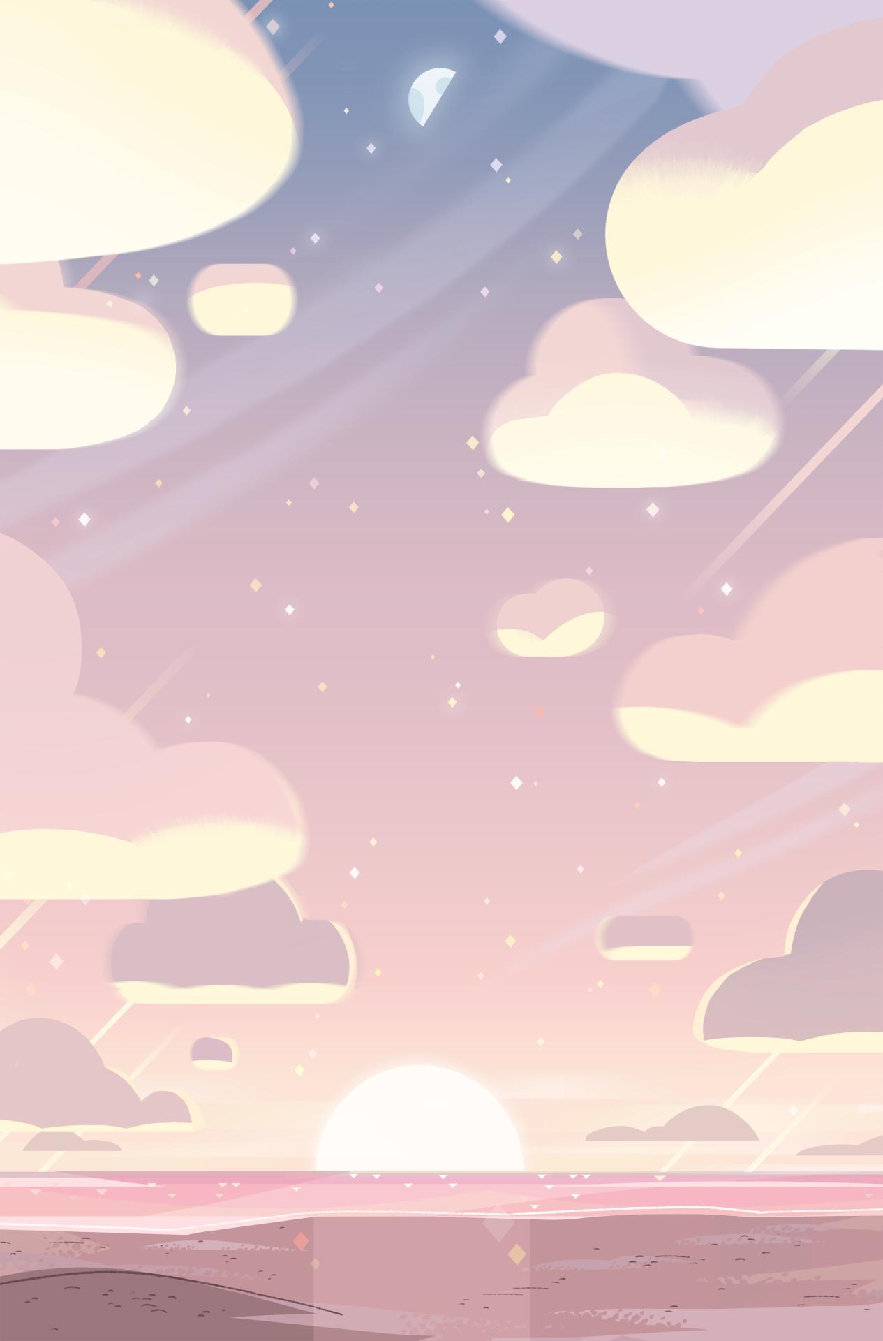 Aesthetic Cloud Wallpaper Cartoon