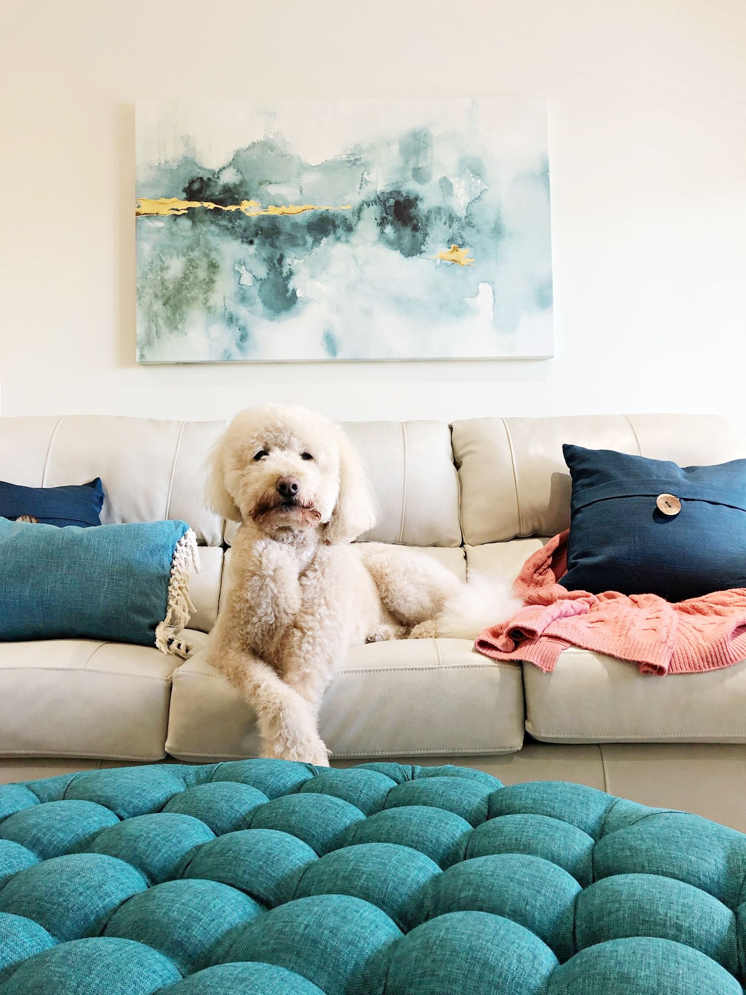 Art With Teal Home Decor Accents Teal Living Room Decor