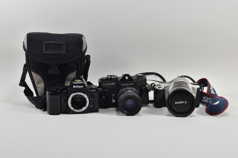 Ebay Sponsored E26l56 3x Fotokamera Nikon Af F 801 Canon Eos 300