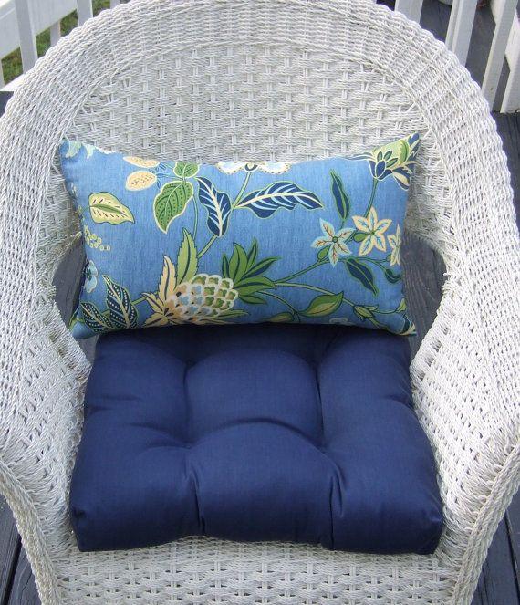 Indoor Outdoor 19 Quot X Quot 19 Universal Tufted Wicker Seat