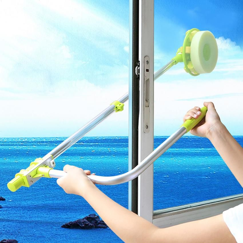Telescopic High Rise Window Glass Cleaner Cleaning Glass High