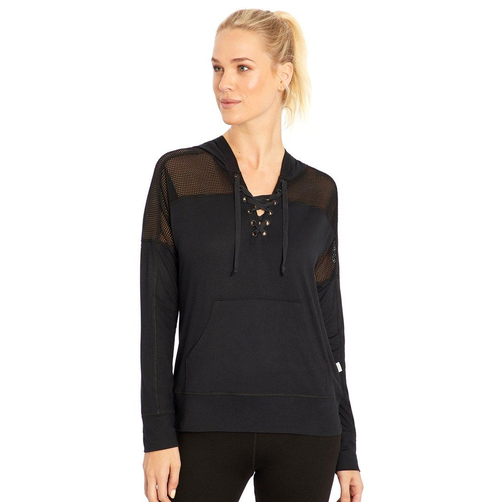 Women's Marika Riley Lace Up Hoodie