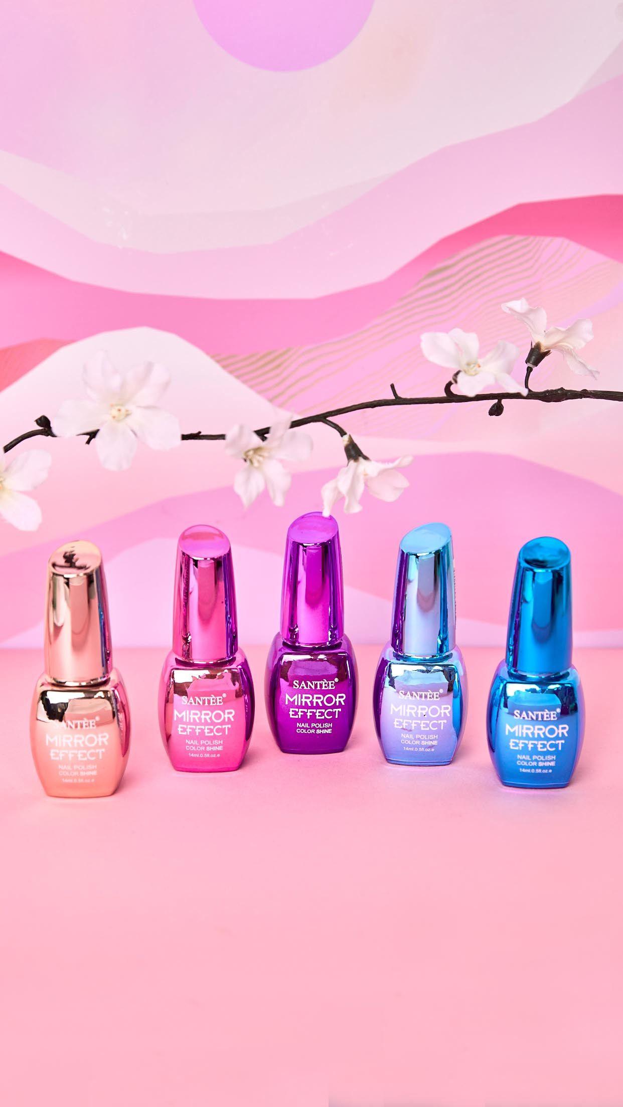 Color Mirror Effect Nail Polish   nails   Pinterest