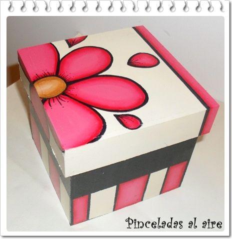 pinceladas al aire cajas decoupage pinterest boite bo tes d coratives et bricolage. Black Bedroom Furniture Sets. Home Design Ideas