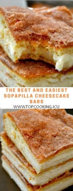 These Sopapilla Cheesecake Bars are to-die for! Rich, creamy, cinnamon sugary delights that are a cinch to make! Ingredients2 pkgs refrigerated cresce... - -