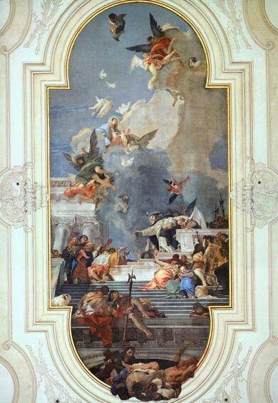 Tiepolo Baroque Painting Rococo Art Painting