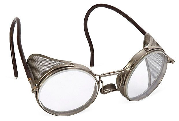 Antique Folding Safety Goggles on OneKingsLane.com