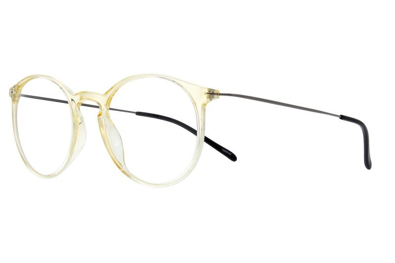 174096b310 Translucent Ultra Thin Round Glasses  7808322 Round Eyeglasses