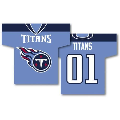 "Tennessee Titans Nfl Jersey Design 2-sided 34"" X 30"" Banner"