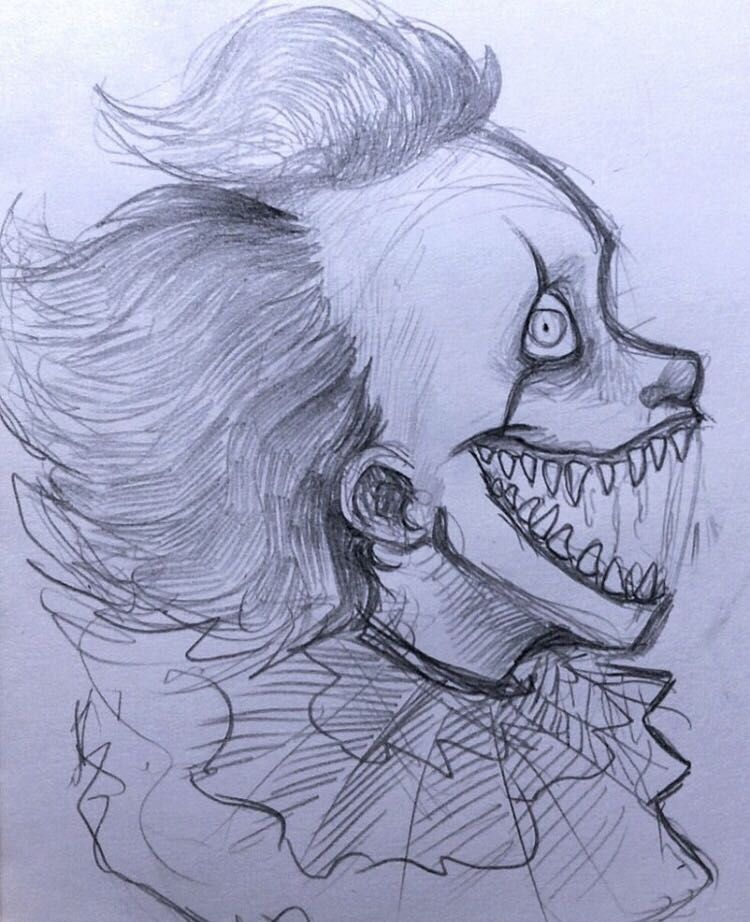 Easy Scary Halloween Drawings : scary, halloween, drawings, SLASHERS!!!!!