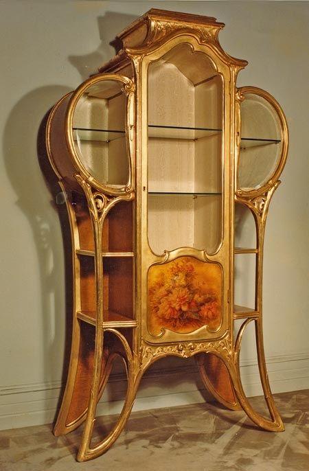 Art Nouveau \u2022~\u2022 china cabinet Furniture Pinterest Barcelone