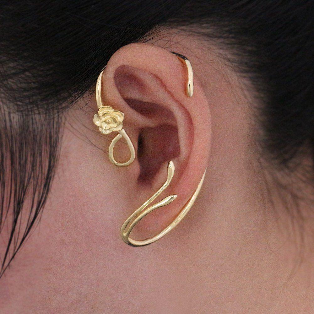 Beauty and the beast earrings ear cuff belle desert sky beauty and the beast earrings ear cuff belle baditri Choice Image
