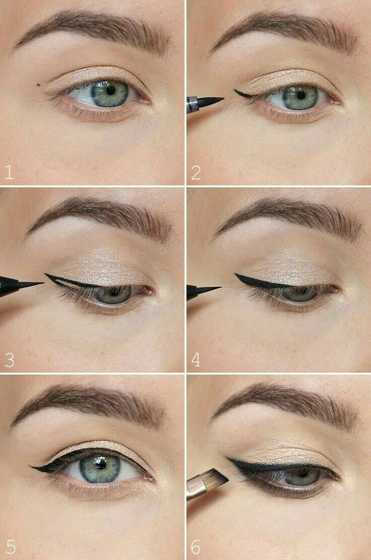 Pin by martina on misstyle pinterest makeup winged liner and eye makeup tipsokey eye makeup tips for a catchy and impressive look baditri Image collections