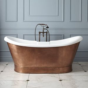 Gift Ideas For The Home Copper Tub Copper Bathroom Copper Bathtubs