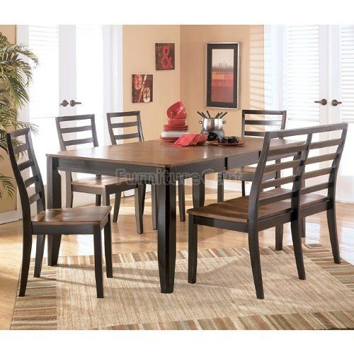 Alonzo Rectangular Dining Room Set D367 35 dr set by Ashley