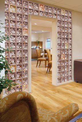Pin de eppe sisoutham en briques de verre pinterest vidrio bloques y hogar - Ladrillos de cristal ...