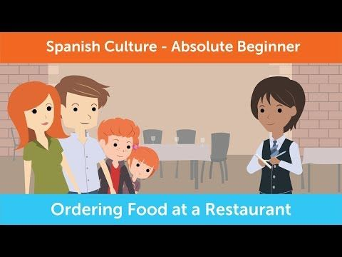 How To Order Food At A Restaurant In Mexico Innovative Spanish