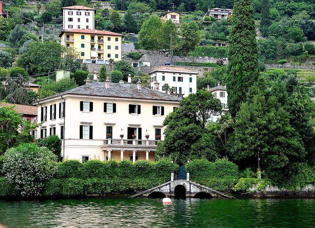 George Clooney S Villa On Lake Como Lake Como Lake Como Italy Living In Italy