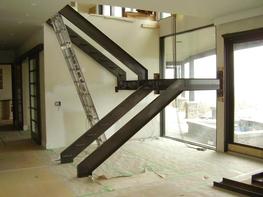 Stair Stringer Design Metal Stair Stringers Frame Stair Stringer | Steel Stair Stringer Design | Structural | Simple | Step | Free Standing | 3 4 Wood Stringer