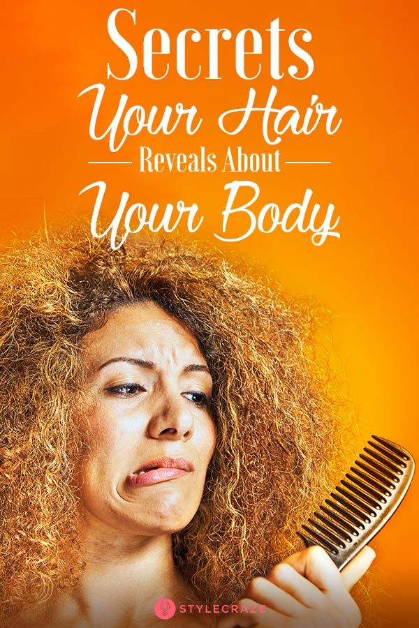 16 Secrets Your Hair Is Telling You About Your Body! | Health and ...