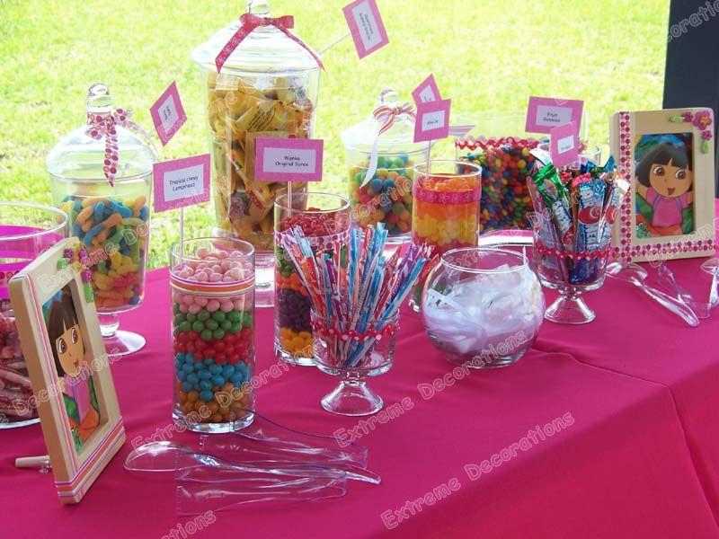 Party Decorations Miami Balloon Sculptures candy bar Pinterest