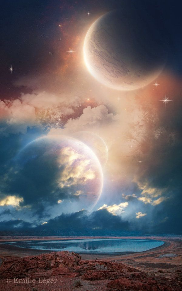 Outer Frontiers by emilieleger on DeviantArt
