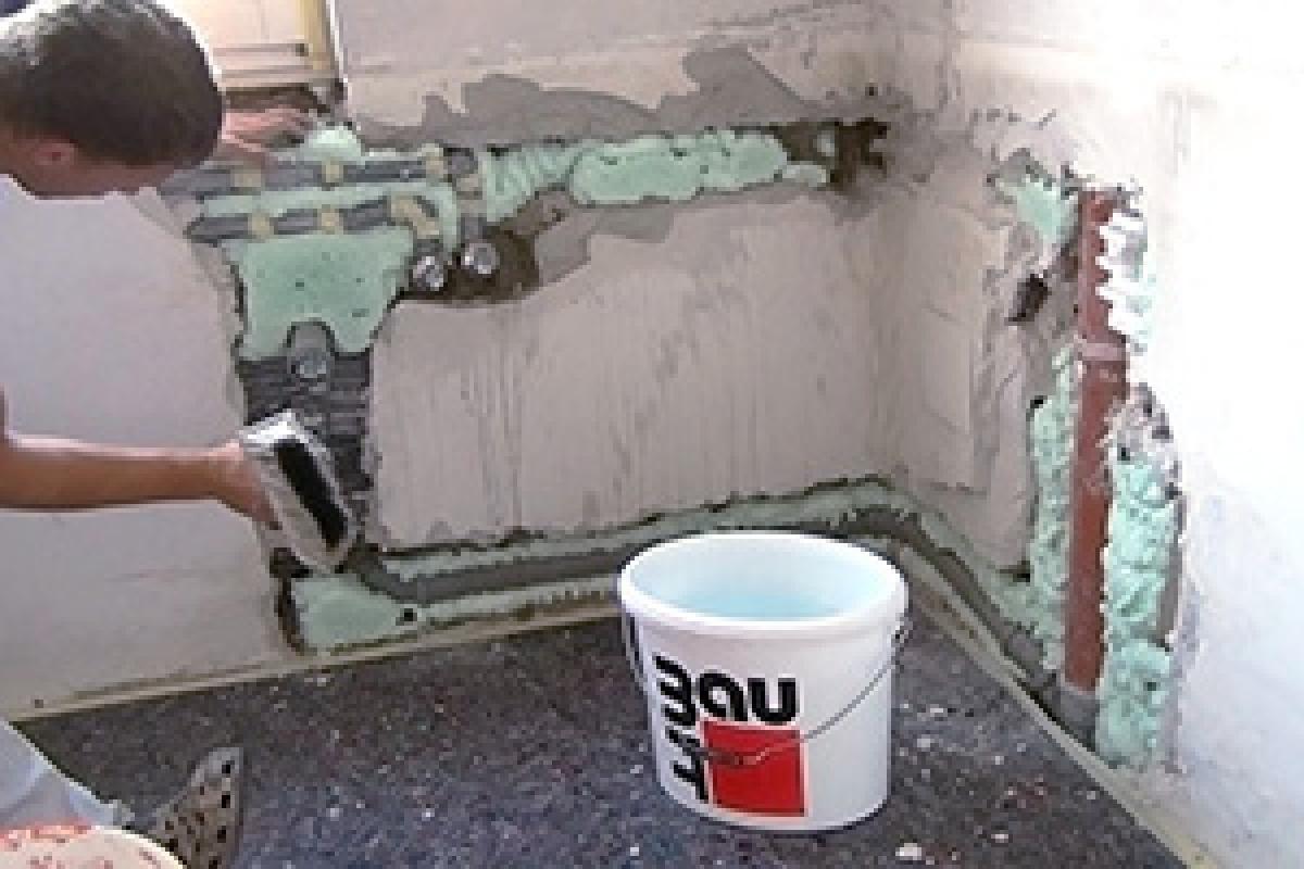 Schnellputzprofile Anbringen Wand Verputzen Wande Spachteln Verputzen