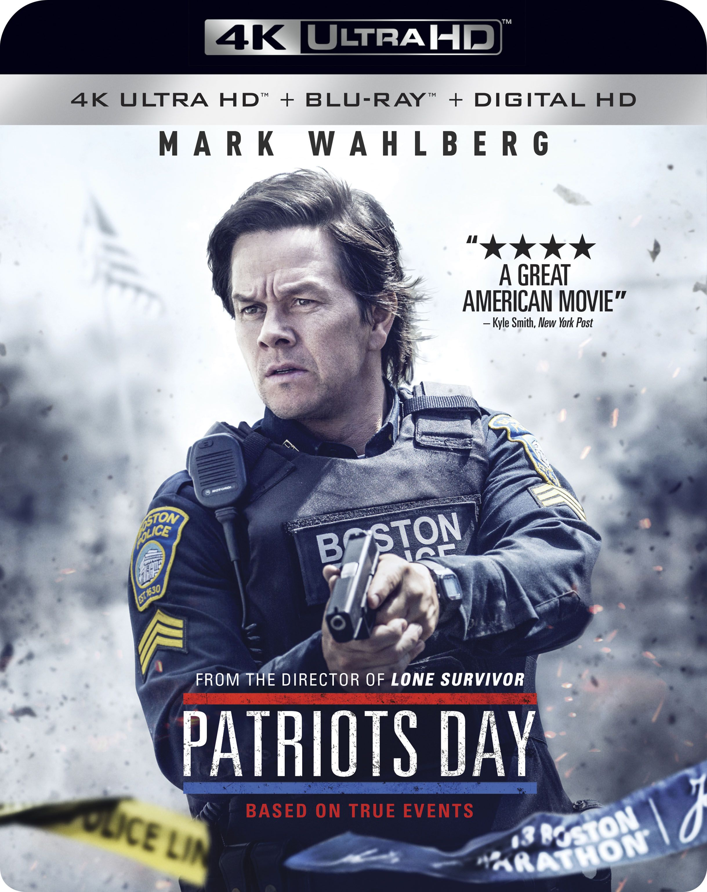 Patriots Day 4k Ultra Hd Blu Ray Digital Hd Patriots Day Patriots Mark Wahlberg