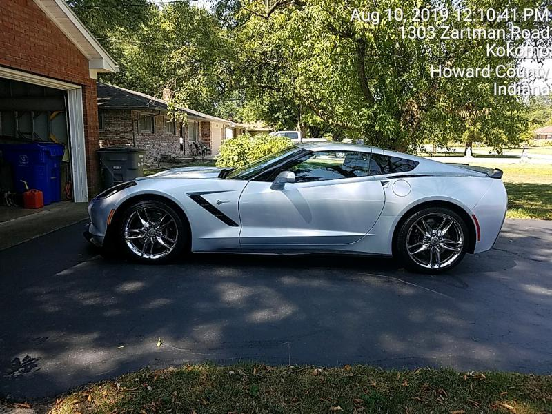 2017 Corvette Coupe For Sale In Indiana Sterling Blue Metallic 2017 Z51 Dream Chevy Corvette For Sale Corvette For Sale Corvette
