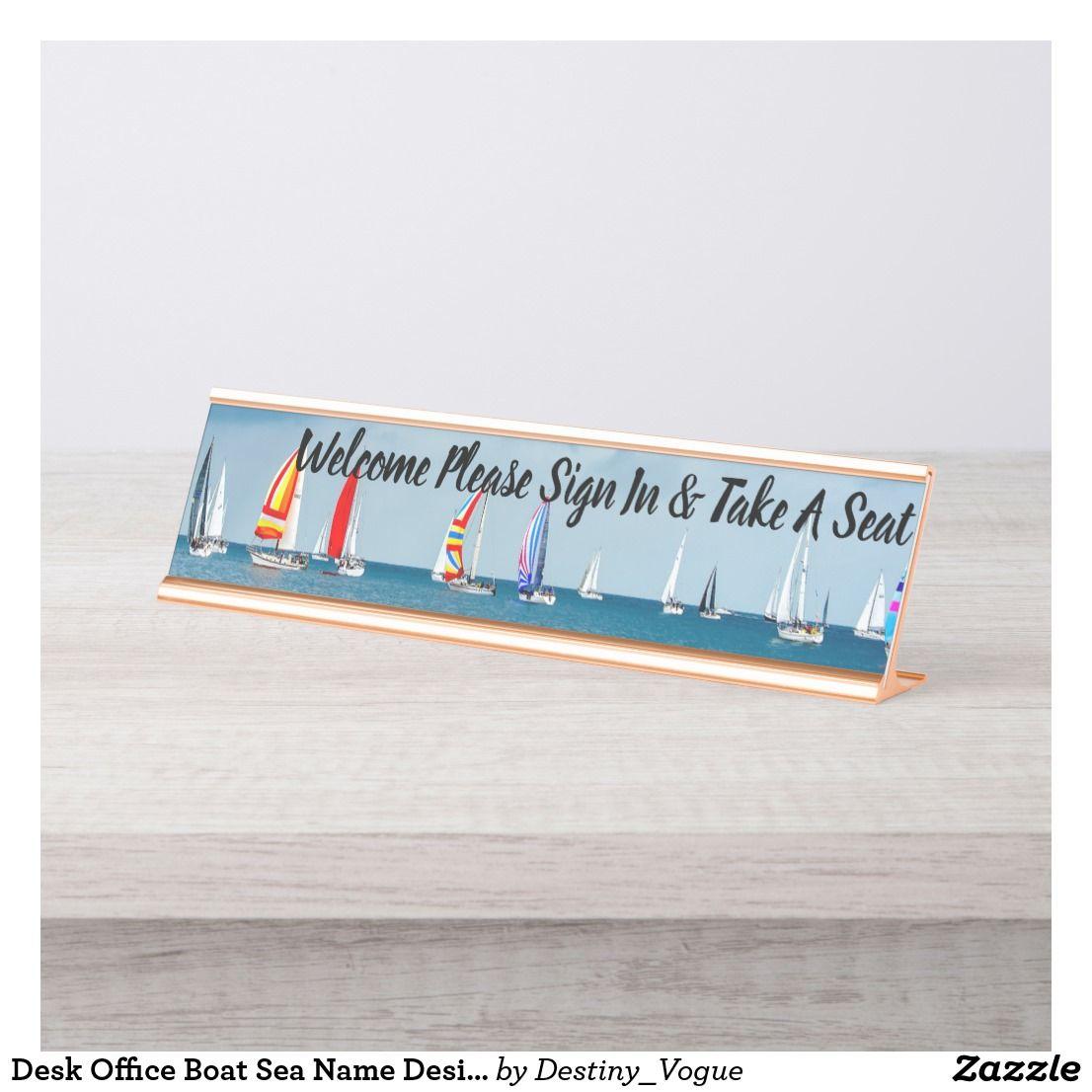 desk office boat sea name design destiny s destiny desk name plate rh in pinterest com