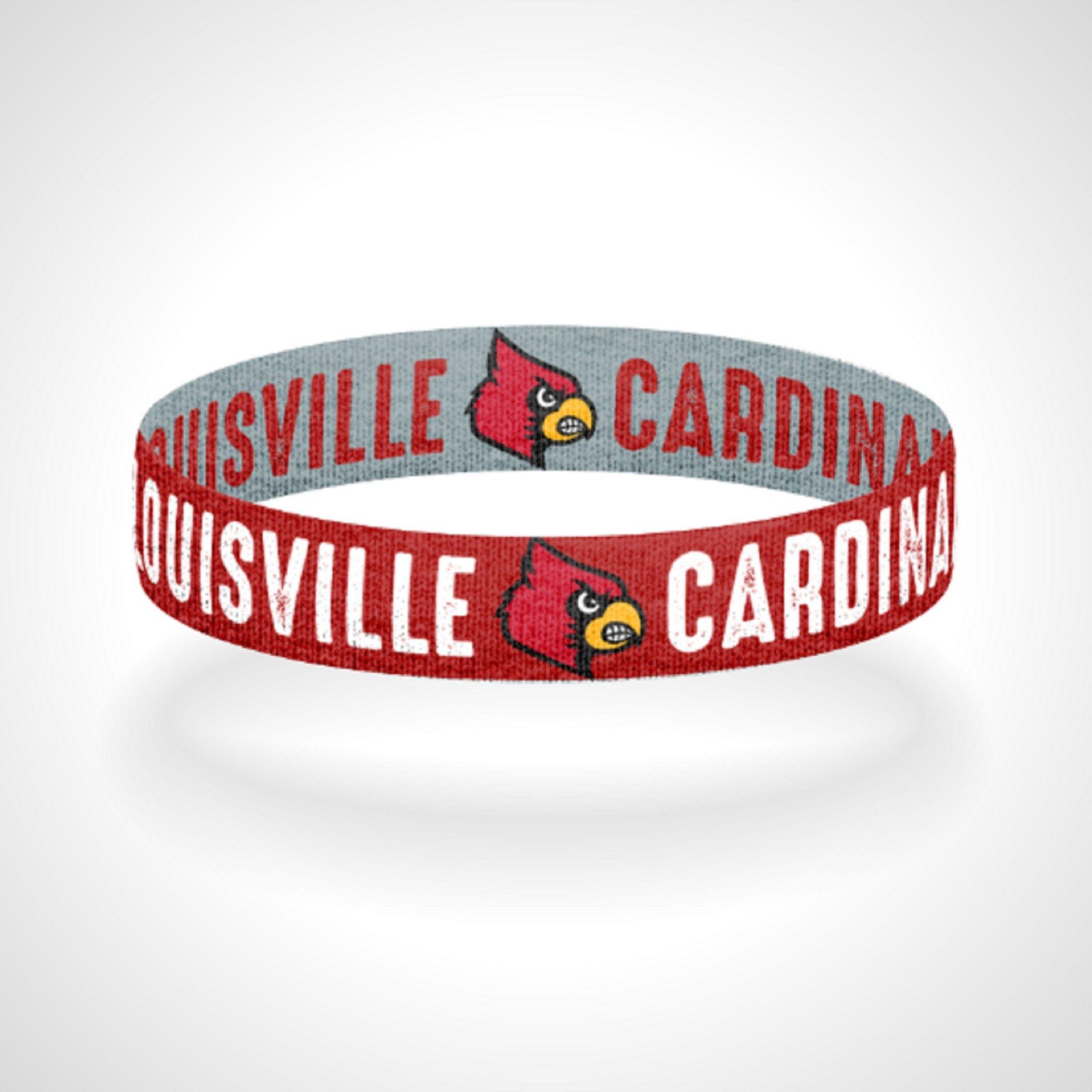 Louisville Cardinals Bracelet Wristband