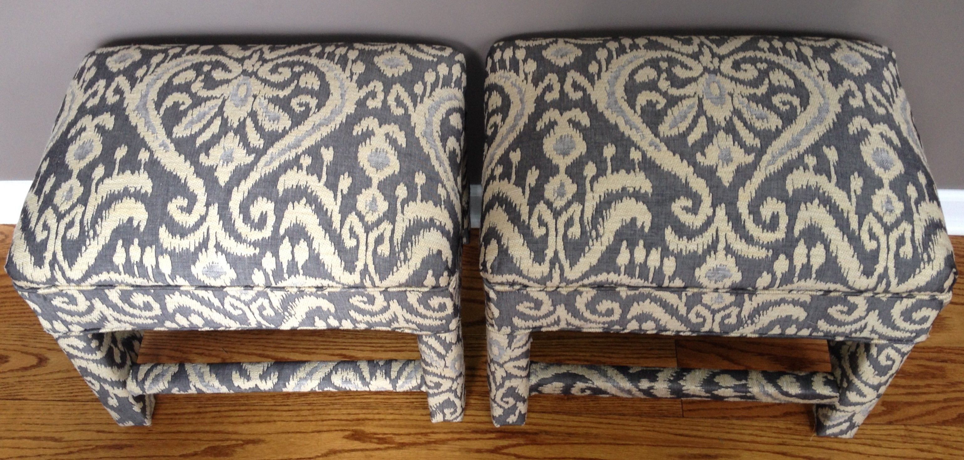 Hmmm. Used. What do you think?  Matching Footstool Pair $399 - Flossmoor http://furnishly.com/matching-footstool-pair.html