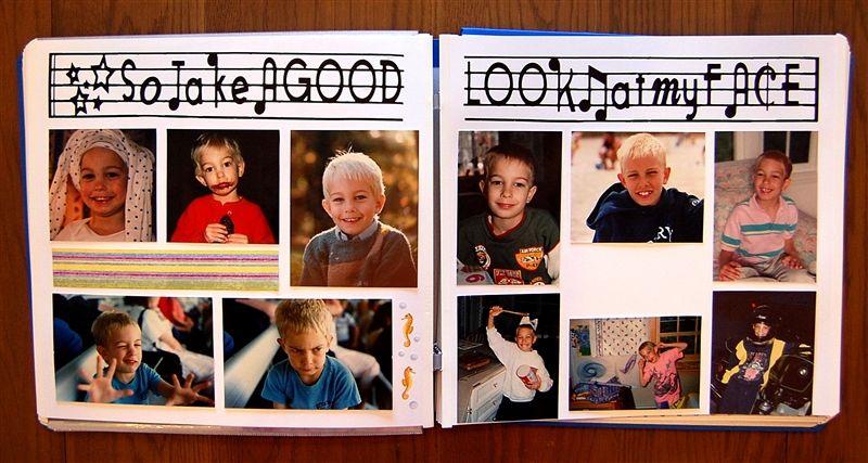 Childhood Scrapbook Google Search Scrapbook Ideas Pinterest