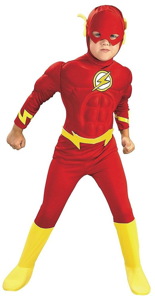 DC Comics The Flash Muscle Chest Deluxe Toddler/Child ...