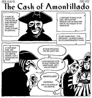 a narration out of guilt in the cask of amontillado a short story by edgar allan poe Enjoy millions of the latest android apps, games, music, movies, tv, books, magazines & more anytime, anywhere, across your devices.