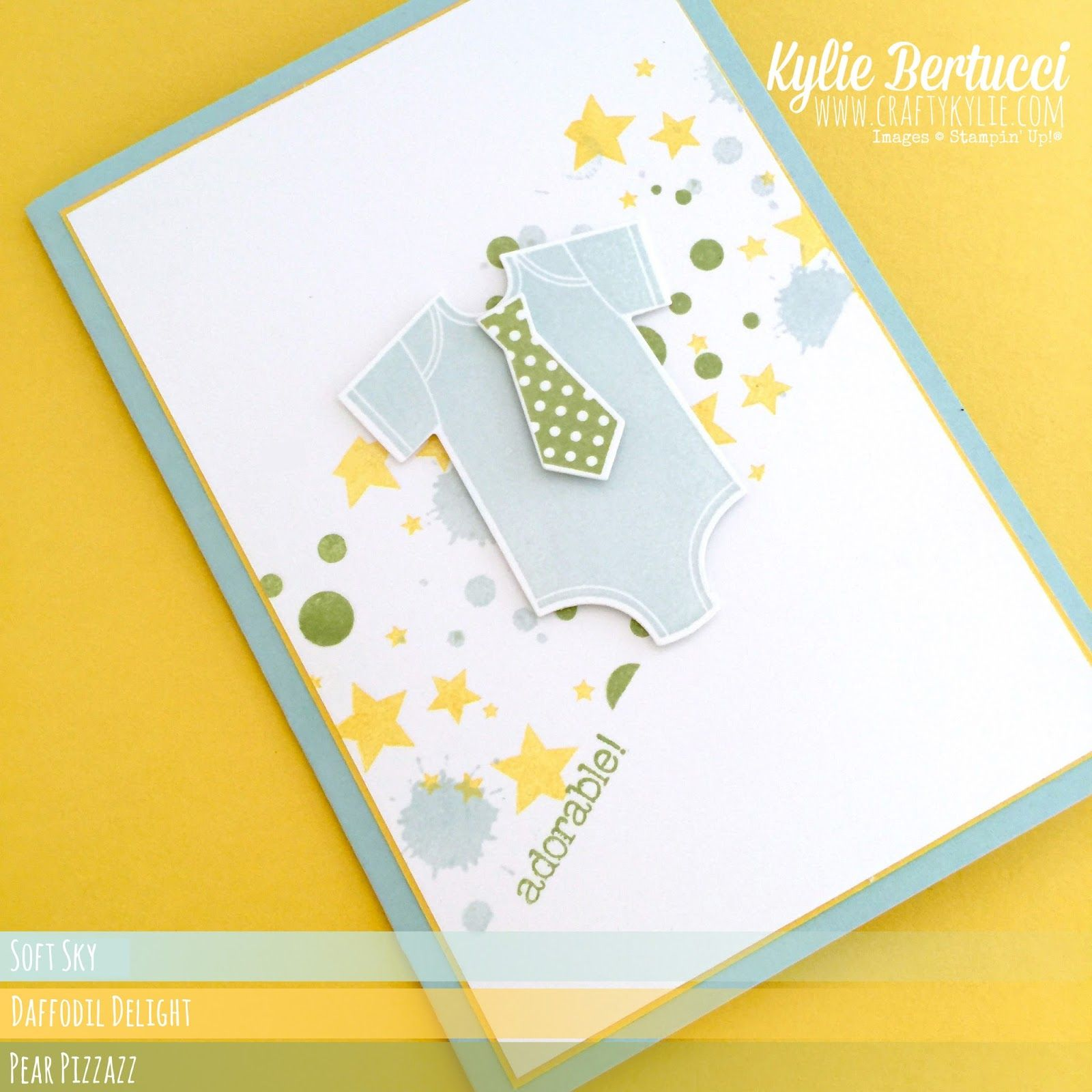 Something about Baby - Stampin' Up!