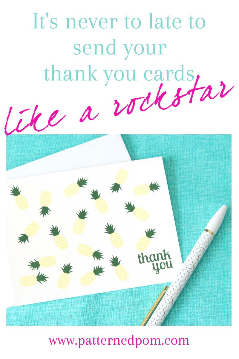 Look At These Cute Pineapple Thank You Cards I Found Handmade Boxed