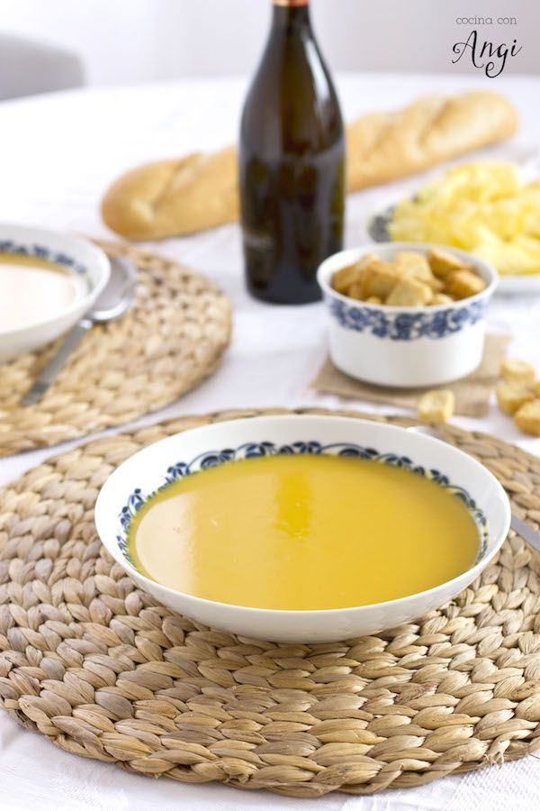 Cocina con Angi: Crema de calabaza y jengibre