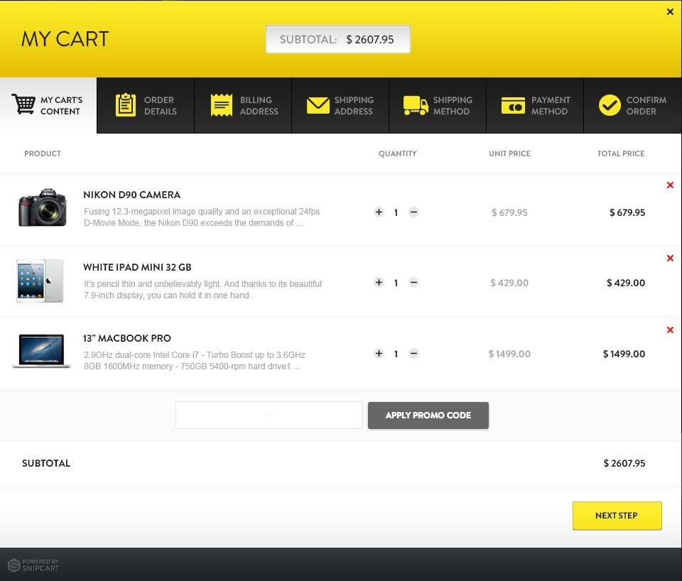 Snipcart Effortless Shopping Cart For New Or Existing Websites Using Any Cms Modern Web Design Web Design Website Inspiration