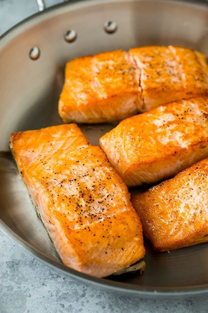 Photo of Pan Seared Salmon Recipe | Garlic Butter Salmon | Seared Salmon #salmon #garlic …