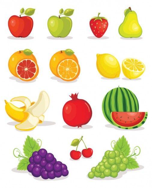 Resultado De Imagen Para Frutas Y Verduras Dibujos Para Imprimir A