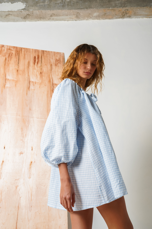 Francesca Smock In Baby Blue Gingham In 2020 Smock Dress Outfit Summer Dress Outfits Smock Dress [ 6000 x 4000 Pixel ]