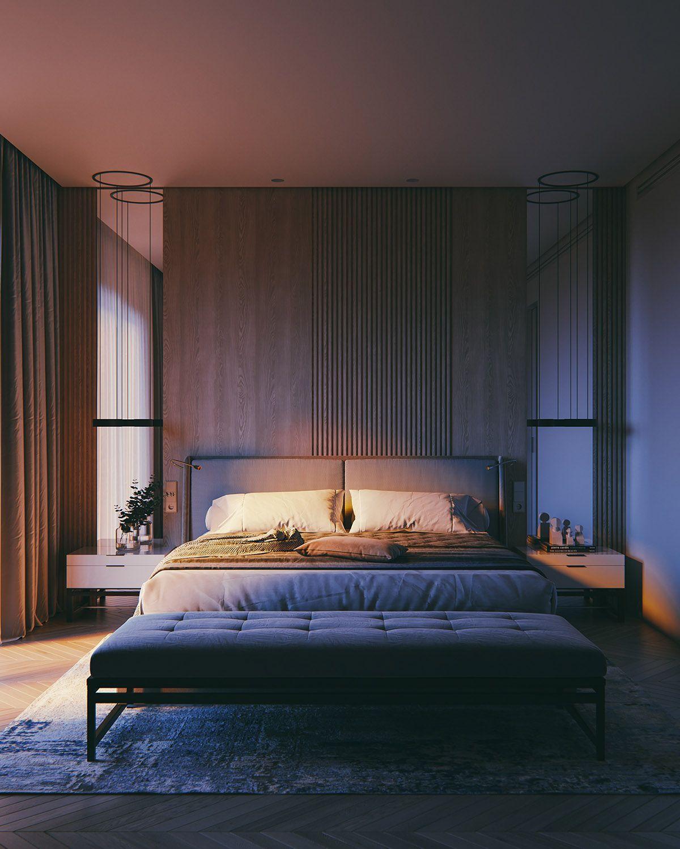 Amazing Bedroom Lighting Ideas: Amazing Simple Master Bedroom Design Ideas #bedroom