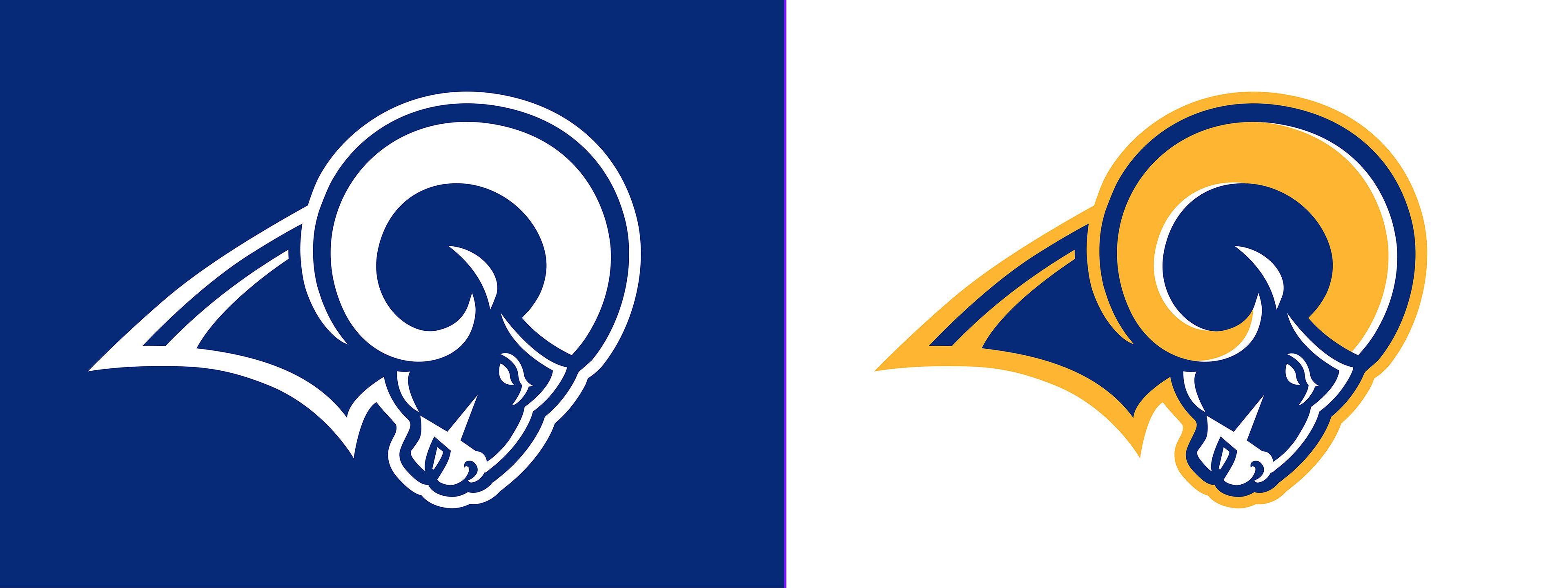 Team I D Los Angeles Rams Concept In 2020 Los Angeles Rams Los Angeles Concept