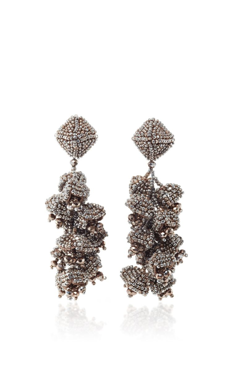 Sachin & Babi Grapes Earrings Silver w6IP7