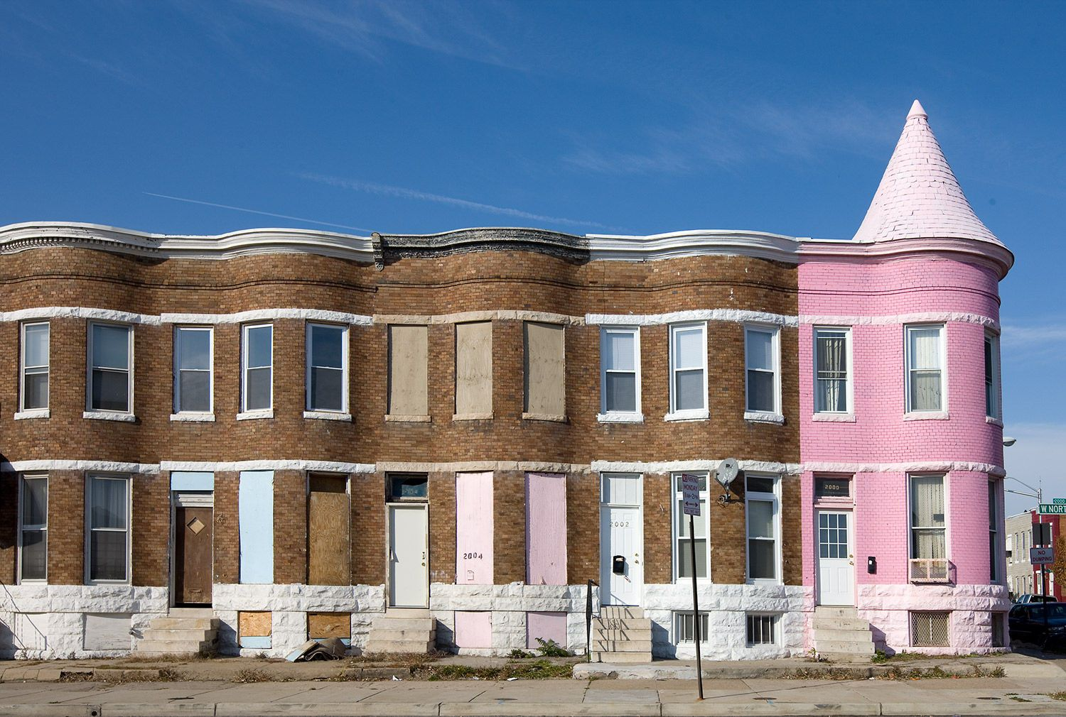 Row Houses In Baltimore Md : Baltimore abandoned row houses google search smart