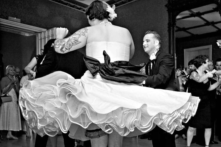 Looks like it was a Jive at Nonsuch Mansion!
