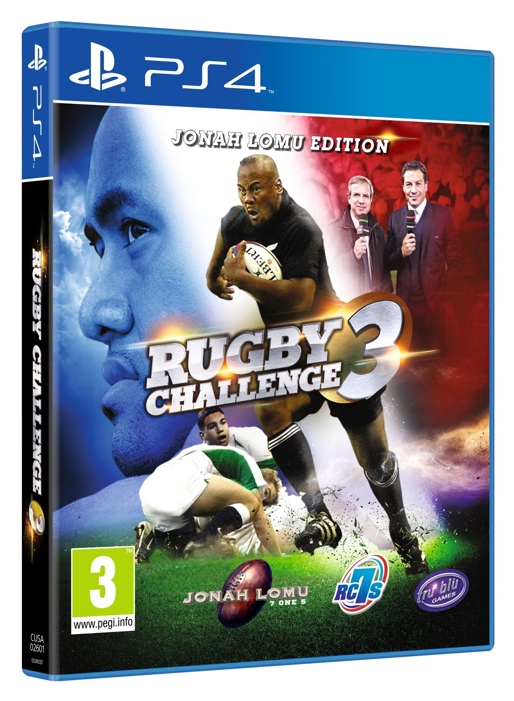 """""""Rugby Challenge 3"""" per PS4 Tru Blue Entertainment"""