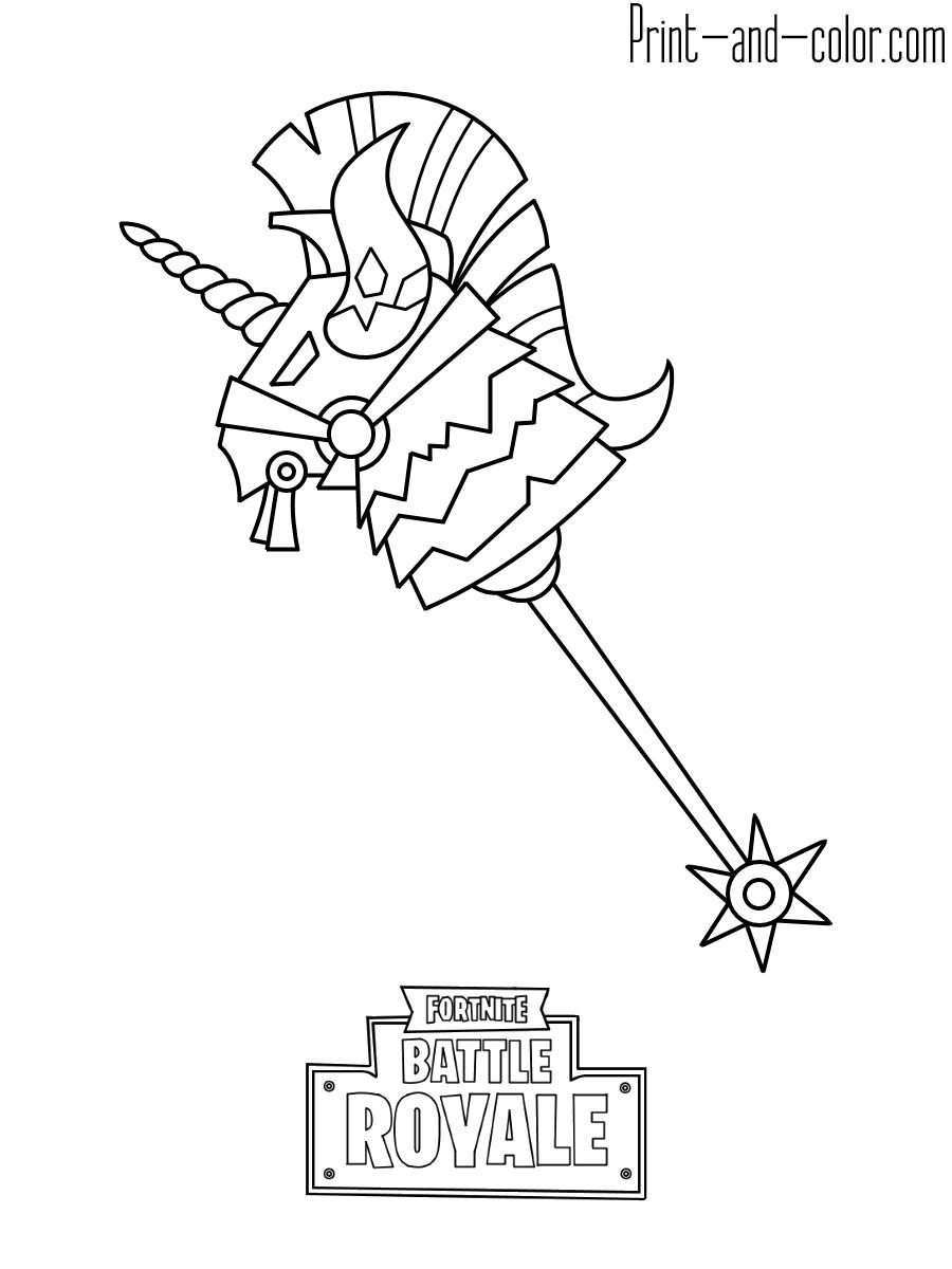 Fortnite Imprimir dibujos para colorear, Dibujos de
