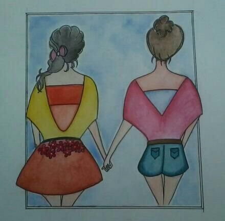 Done wid Watercolours